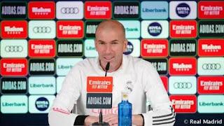 Zidane speaks on Hazard, Rodrygo, Casemiro, Asensio ahead of Atalanta clash