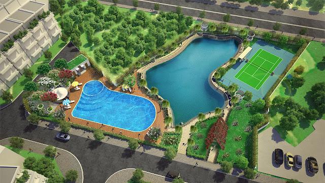 Cảnh quan xanh của dự án Kim Long Đà Nẵng