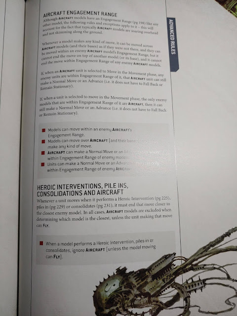 Intervencion heroica apilamiento consolidacion 9a edición 40k