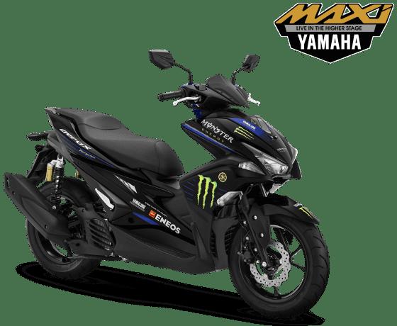 Spesifikasi, Fitur, dan Warna Yamaha Aerox 155 VVa R-Version Monster Energy