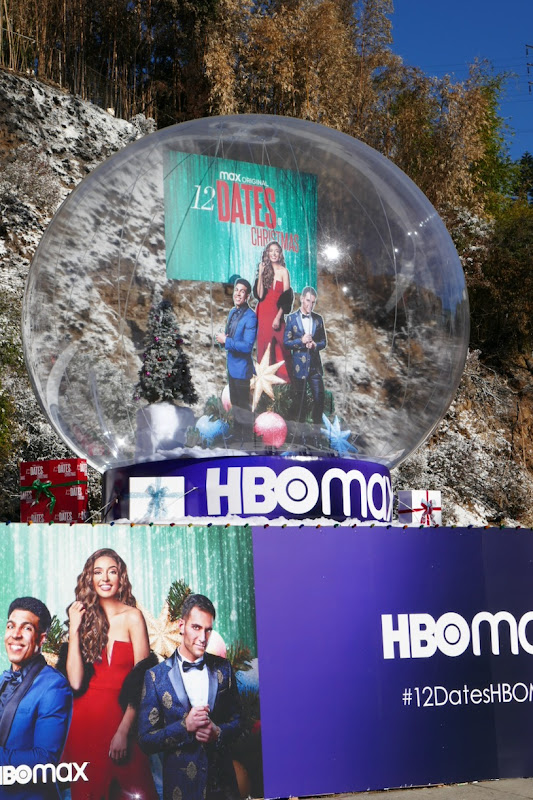 12 Dates of Christmas HBO Max 3D snow globe