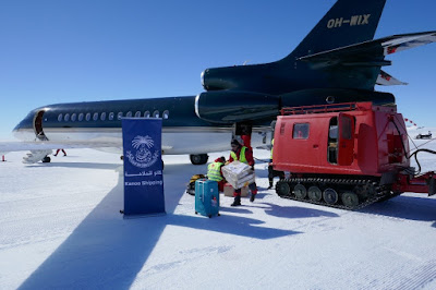 Kanoo Shipping South Africa handles first of this year's flights to Antarctica