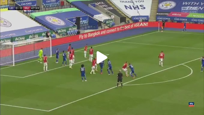 VIDEO: Leicester City 0:2 Manchester United / Premier league