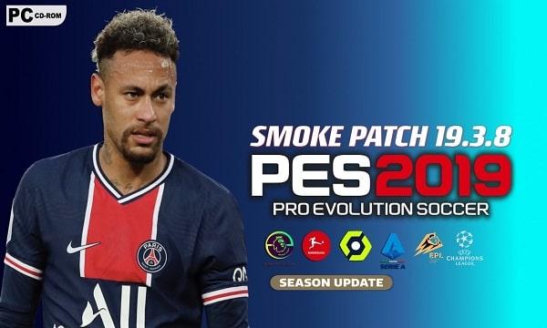 PES 2019 PATCH 2021 SMOKE v19.3.8 AIO