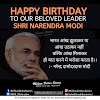happy birthday narendra modi status