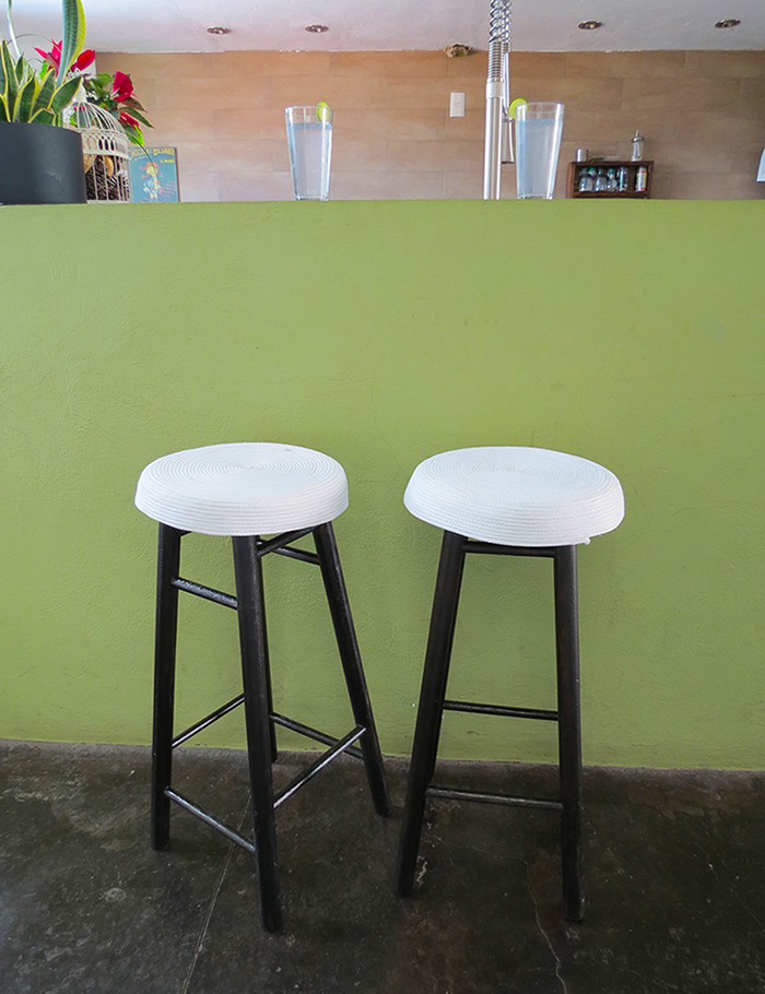 Bar stool makeover