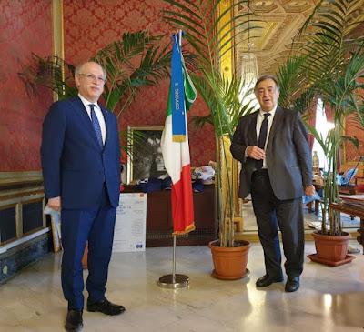 Comune Palermo - Sindaco incontra a Palazzo delle Aquile il nuovo prefetto