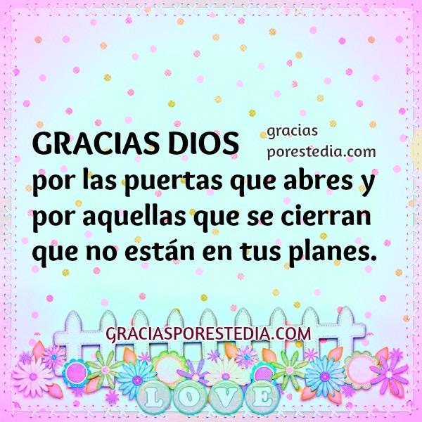 frases oracion acción gracias a Dios