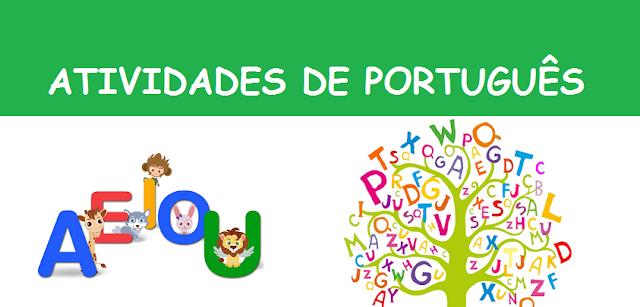 Baixe Atividades de português 1º ano com Vogais