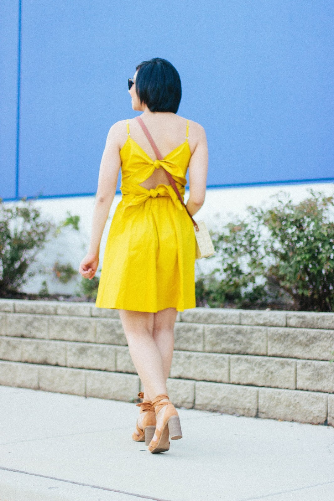 Self Tie-Back Dress for the Summer