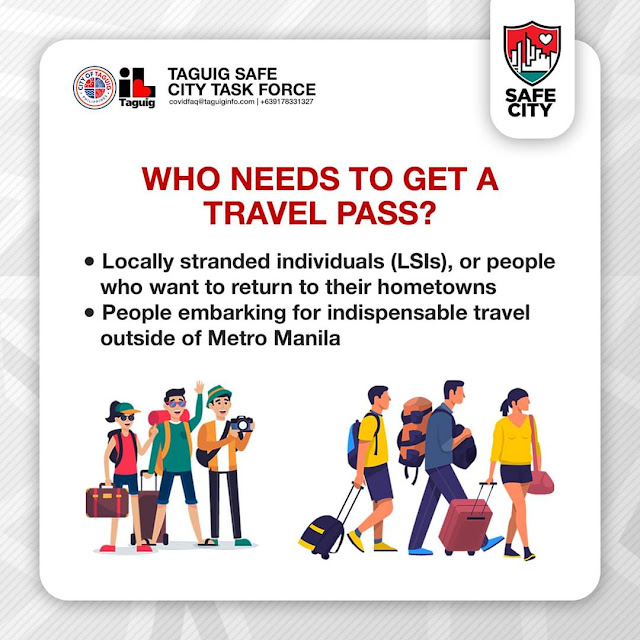 How to apply for travel pass in Taguig