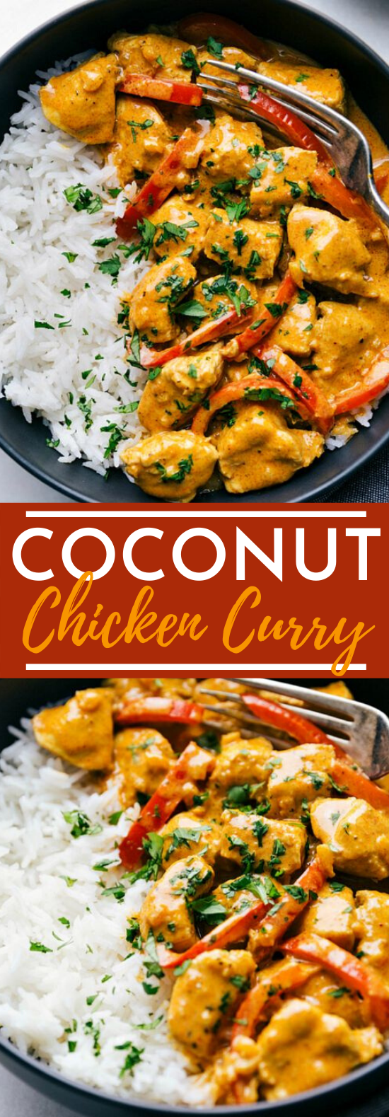 Coconut Chicken Curry #chicken #dinner #recipes #curry #weeknight