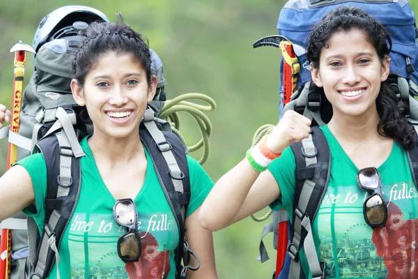 फिजी में पर्वतारोहण कार्यक्रम में भाग लेंगी ताशी और नुंग्शी