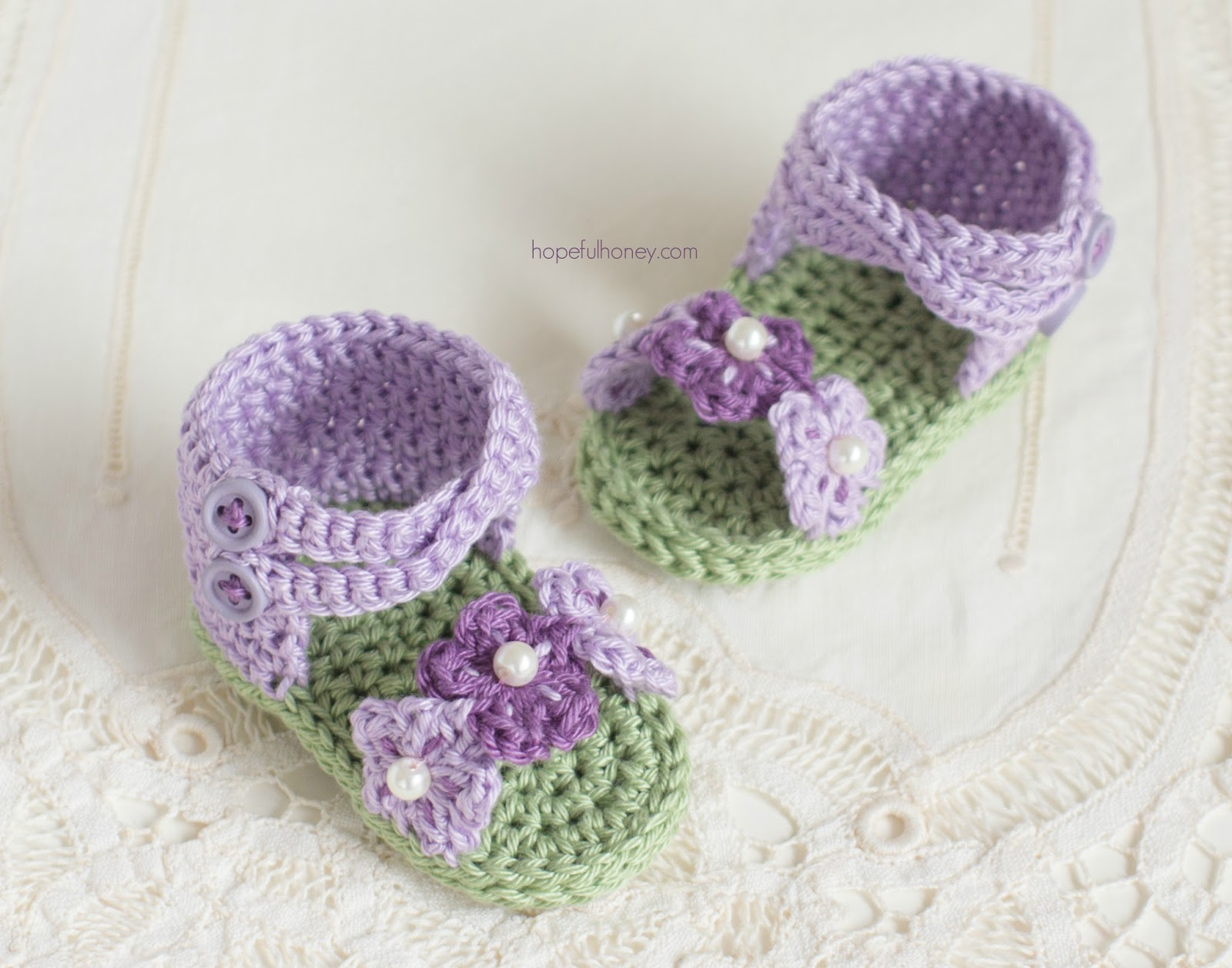 Free English Baby Crochet Patterns : Hopeful Honey Craft, Crochet, Create: English Violet ...