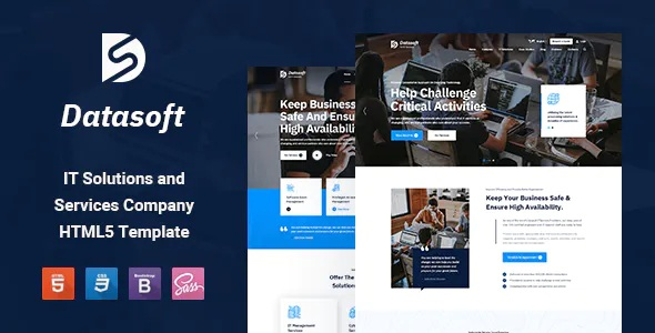 Best IT Solutions and Services HTML5 Template