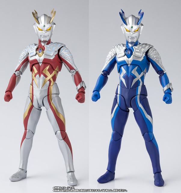 Ultraman Zero: S.H. Figuarts Strong Corona Zero & Luna Miracle Zero Set Revealed