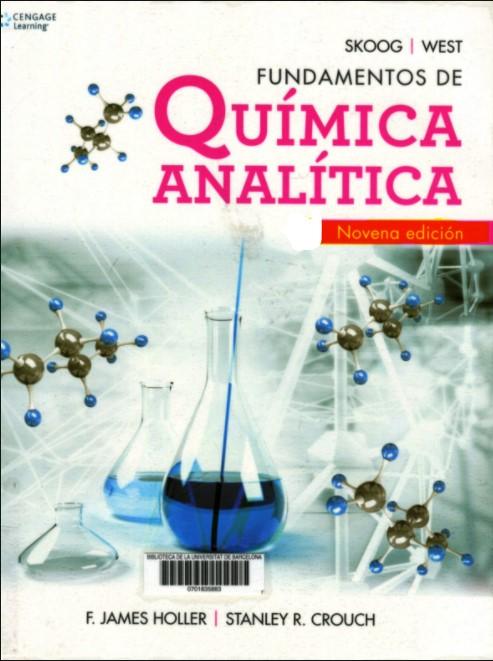 Fundamentos de Química Analítica, 9na Edición -Holler y Crouch pdf