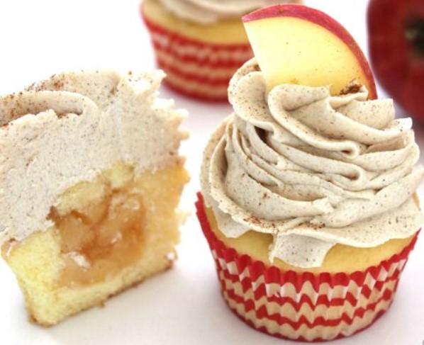 Apple Pie Cupcakes - Cookies Cooking Corner