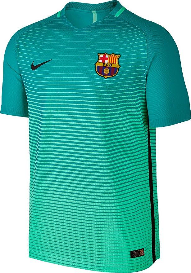 Nike apresenta nova terceira camisa do Barcelona - Show de Camisas 500cdf64a95