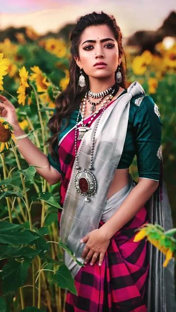 Rashmika Mandanna hd wallpapers on Pinterest