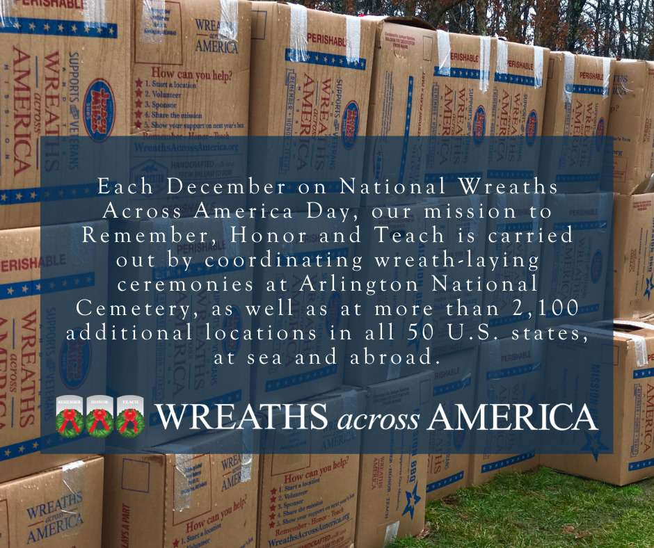 National Wreaths Across America Day Wishes Unique Image