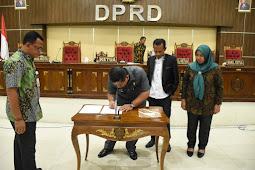 Ansar Daaly Sampaikan Perubahan KUA dan PPAS di DPRD Tidore Kepulauan
