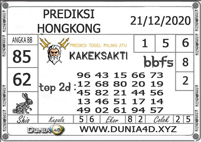 Prediksi Togel HONGKONG DUNIA4D 21 DESEMBER 2020