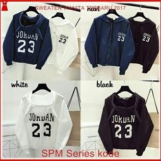 17SPM Model Sweater Jordhan Wanita Full Color Bj6117