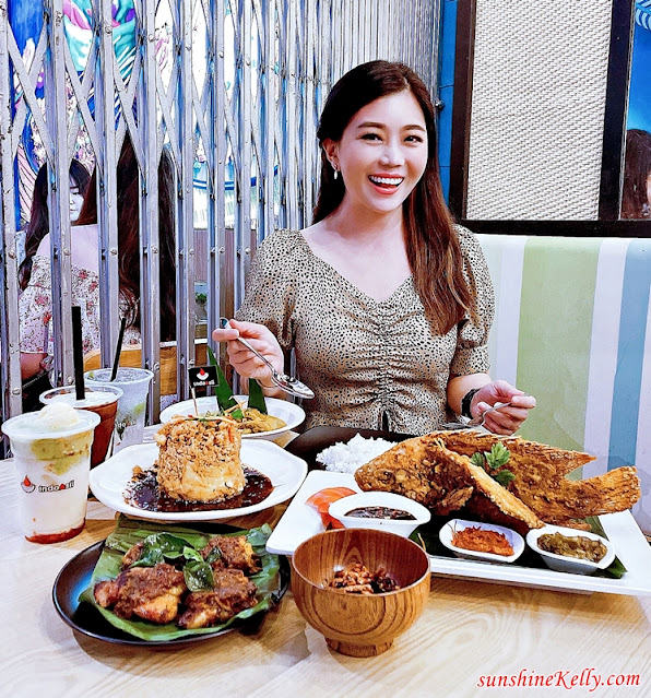 IndoAsli, Authentic Indonesian Homestyle Cuisine, IndoAsli IOI City Mall, IndoAsli i-City, Best Indonesian Food in KL, Nasi Tumpeng Bali, Food