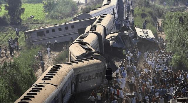 حادث قطار الصعيد