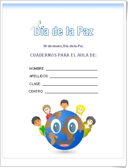 Día de la Paz y la No Violencia (30 de Enero): CUADERNOS PARA EL AULA