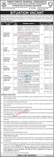 Livestock-Dairy-Development-Department-KPK-Jobs-2021-Download-Application-form