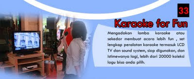 Rental Mix, Sound System dan karaoke