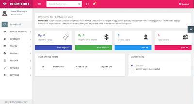 PHPMIXBILL v5 - Install MikroTik API for MikroTik HotSpot & PPPOE