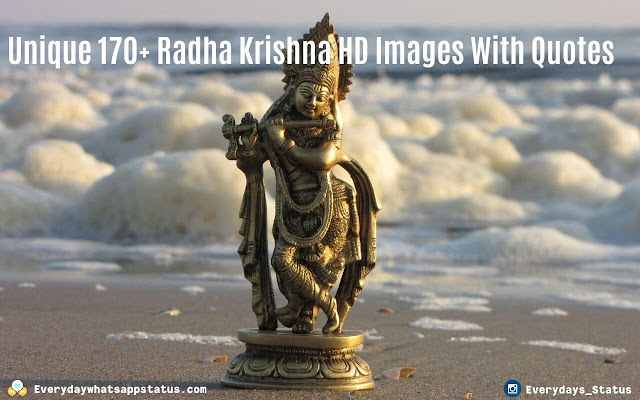 Unique 170+ Radha Krishna HD Images With Quotes  | Everyday Whatasapp Status