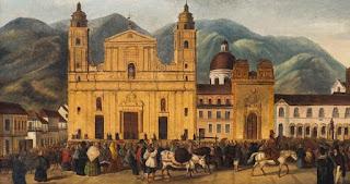 Plaza Mayor de Santa Fe de Bogotá (1810)