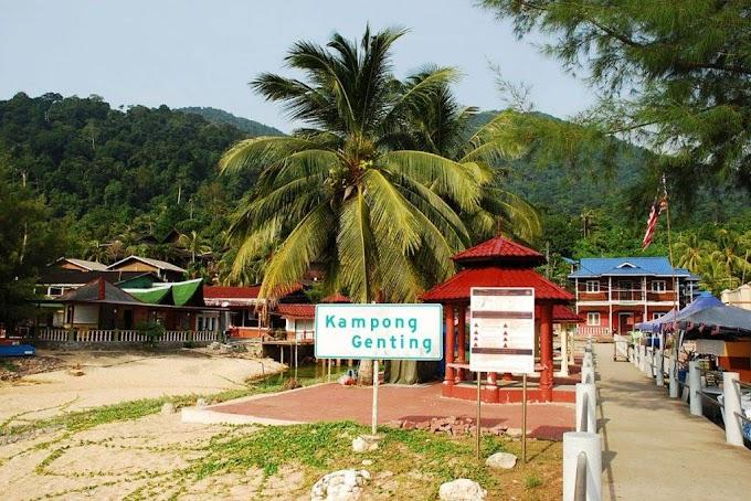 Genting Village (Kampung Genting), Pulau Tioman : Panduan Lengkap Termasuk Tarikan, Makanan & Banyak Lagi