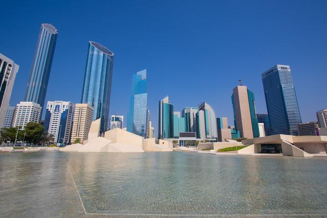 Vista sul WTC da Qasr al hosn-Abu Dhabi