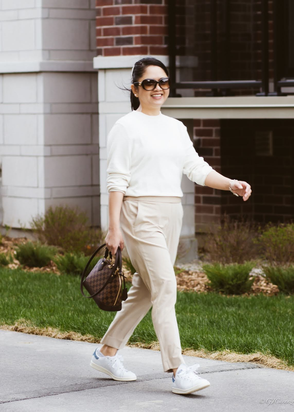petite spring-summer outfit