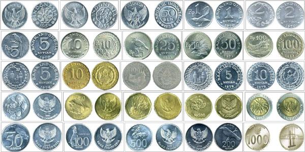 uang logam dulu dan sekarang
