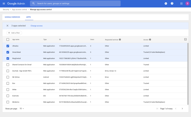 Manage Apps Accessing G Suite Data with New App Access Control 1