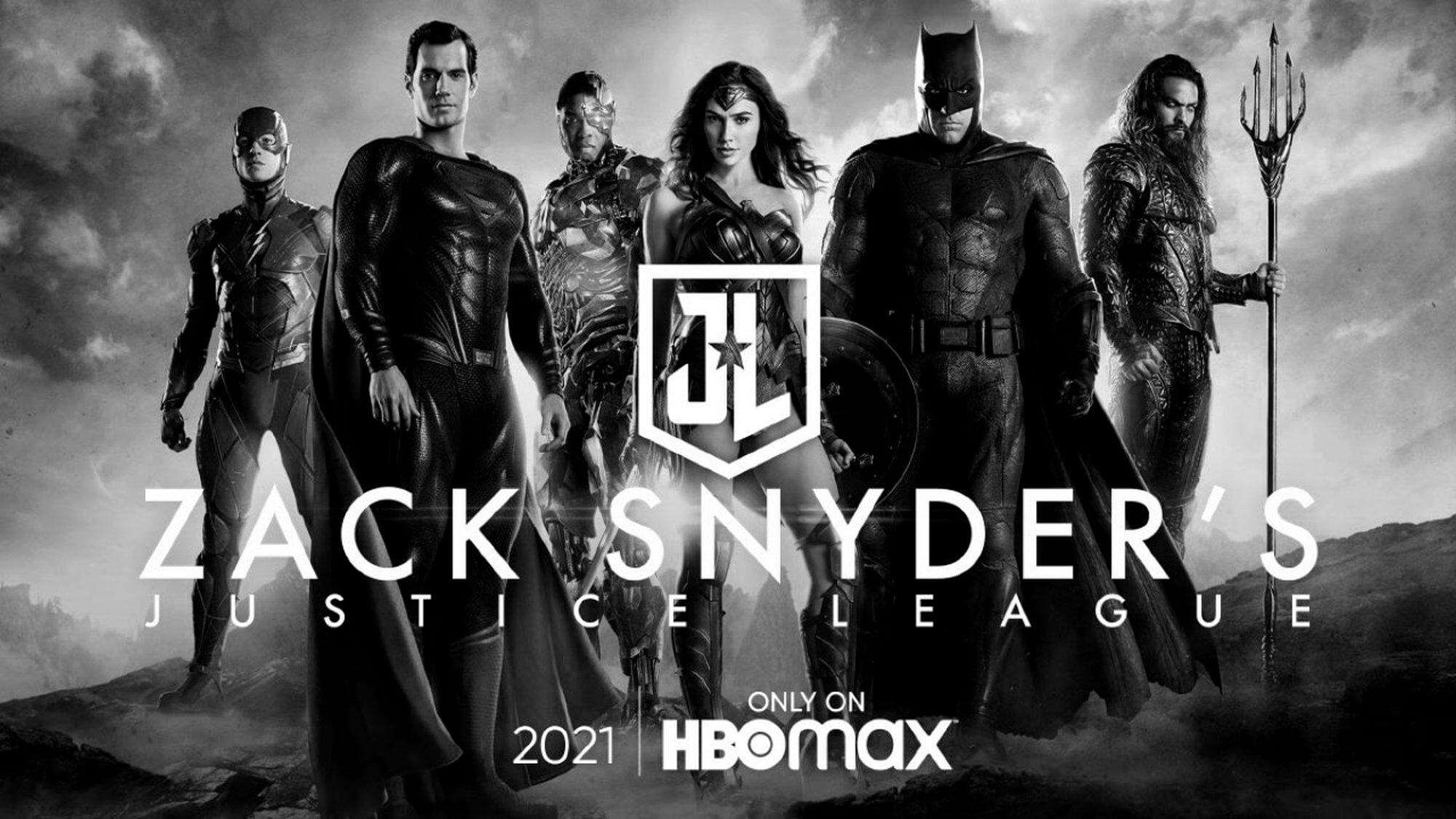 Pôster oficial do Snyder Cut