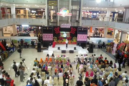 Jelajah Pasar Seni di Pembukaan Lampung Krakatau Festival 2016