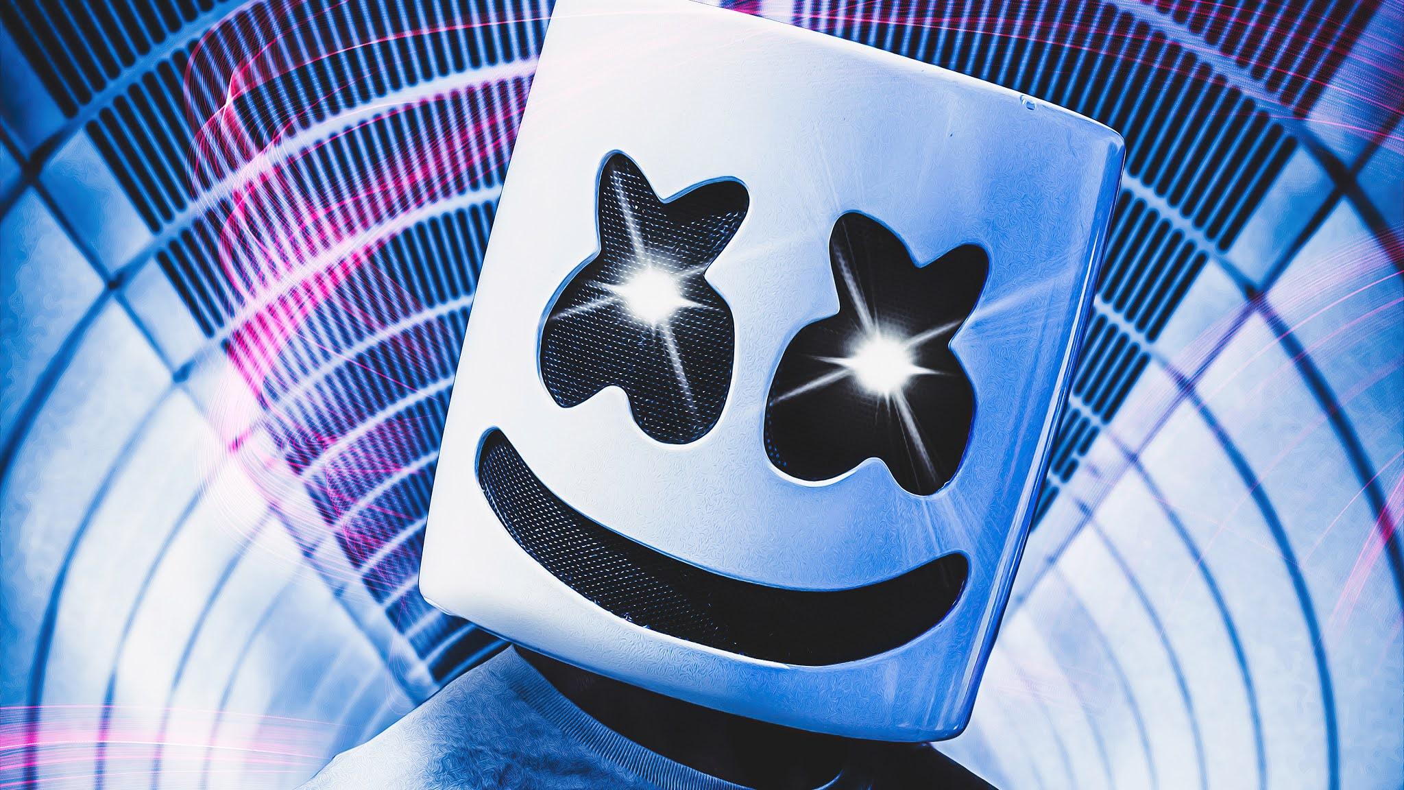 DJ Marshmello iphone Wallpaper