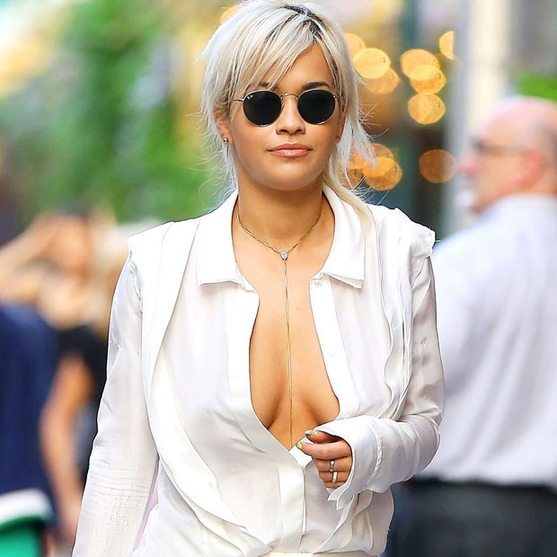 Rita Ora was photographed in New York