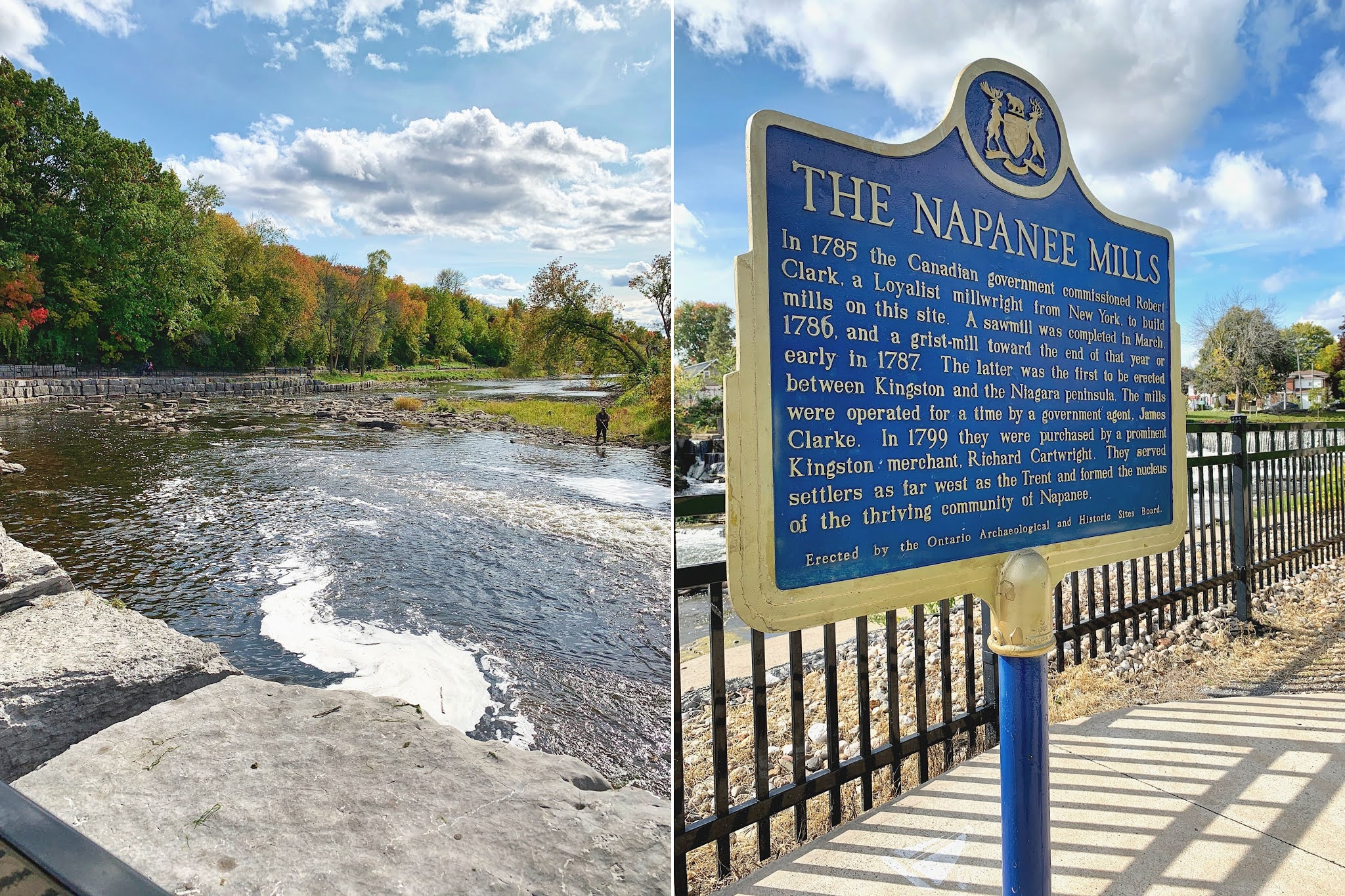 Scenic Fall Drive to Napanee, Ontario