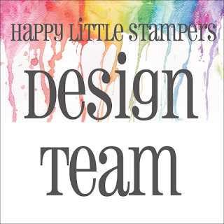 I design for Happy Little Stampers Watercolour Challenge