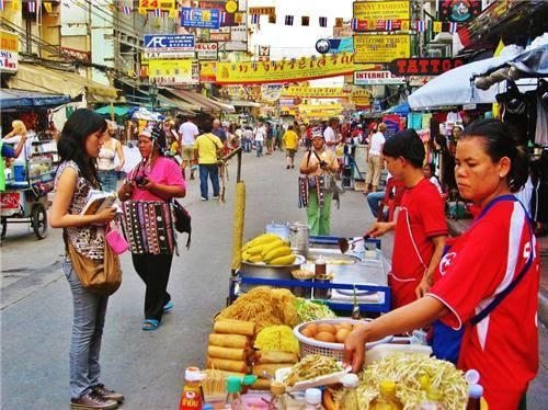 Truyền thống sắc màu bán hàng rong ở Thái Lan 13