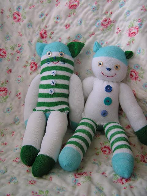 çoraptan oyuncak yapımı