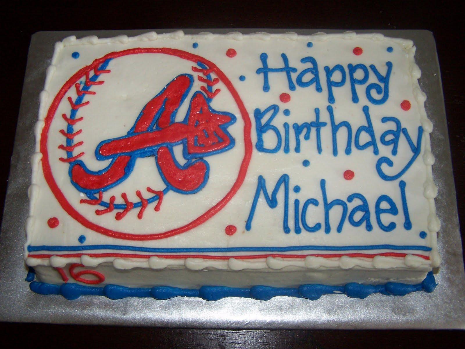 Creative Cakes N More Atlanta Braves Cake